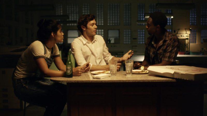 "Heineken Beer Drunk by Otmara Marrero in StartUp: Season 1, Episode 6, ""Bootstrapped"" (2016) - TV Show Product Placement"