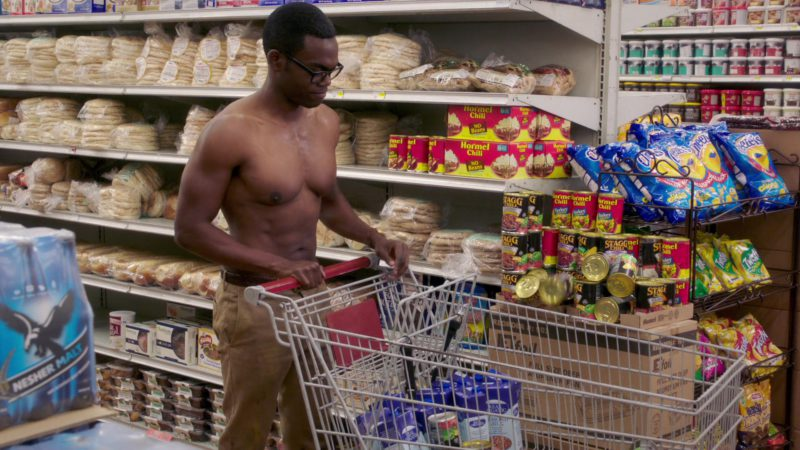 """Hormel Chili in The Good Place: Season 3, Episode 5, """"The Ballad of Donkey Doug"""" (2018) - TV Show Product Placement"""