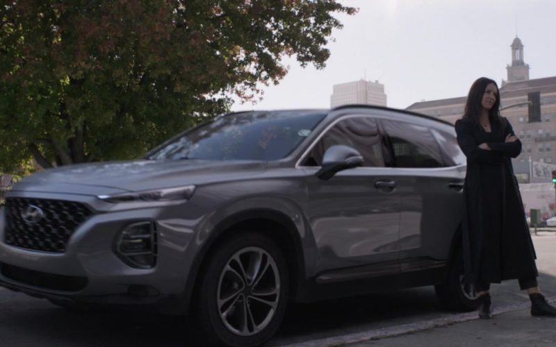 Hyundai Santa Fe SUV Driven by Evangeline Lilly in Ant-Man and the Wasp (5)