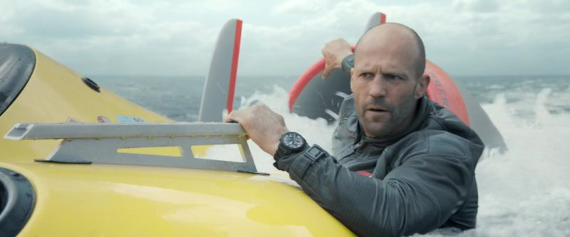 IWC Watch Worn by Jason Statham in The Meg (2018) - Movie Product Placement