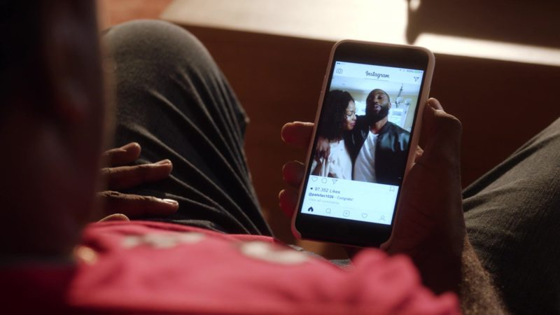 """Instagram Mobile Application in Ballers: Season 3, Episode 10, """"Yay Area"""" (2017) - TV Show Product Placement"""