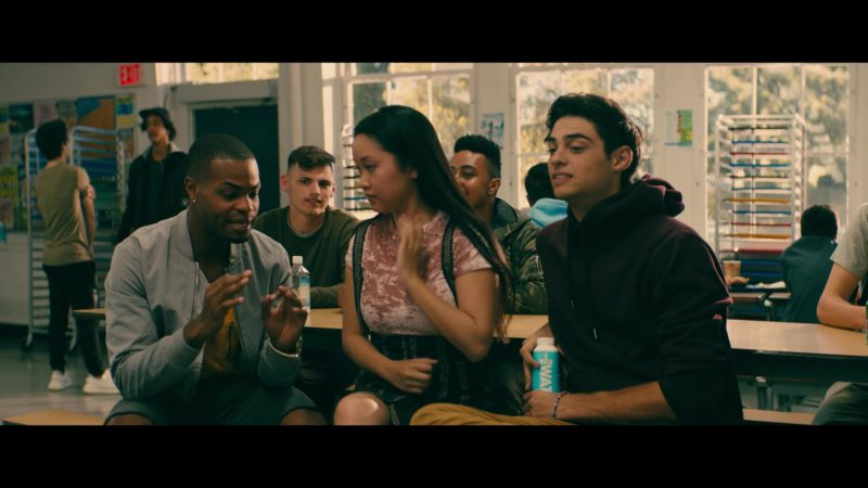 JUST Water in To All the Boys I've Loved Before (2018) Movie Product Placement