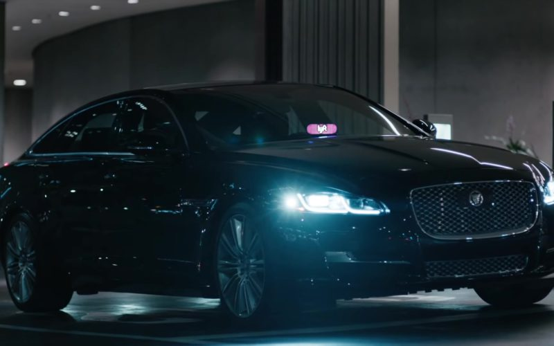 Jaguar Car and Lyft Taxi Service Sign in Lost In Japan by Shawn Mendes and Zedd (4)
