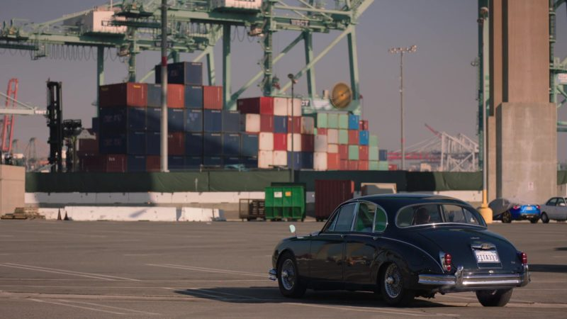 "Jaguar Classic Retro Car in Ballers: Season 4, Episode 1, ""Rough Ride"" (2018) - TV Show Product Placement"