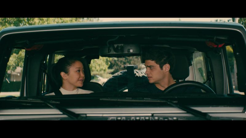 Jeep Wrangler Car Used by Noah Centineo in To All the Boys I've Loved Before (2018) Movie Product Placement