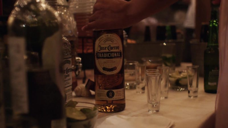 "Jose Cuervo Tequila Drunk by Otmara Marrero in StartUp: Season 1, Episode 10, ""Recapitalization"" (2016) - TV Show Product Placement"