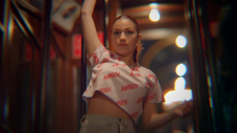 "Joyrich Crop Top Worn by Bhad Bhabie (Danielle Bregoli) in ""Juice"" (2018) - Official Music Video Product Placement"