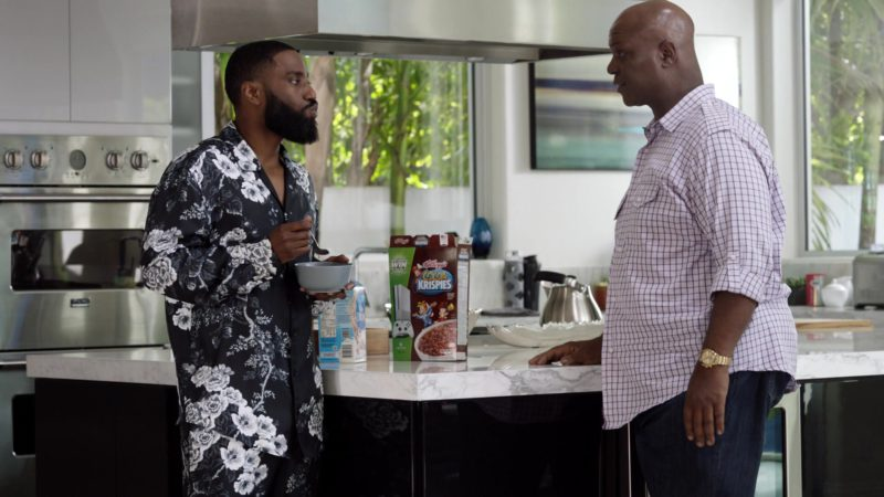 "Kellogg's Cocoa Krispies Cereal in Ballers: Season 3, Episode 3, ""In the Teeth"" (2017) TV Show Product Placement"