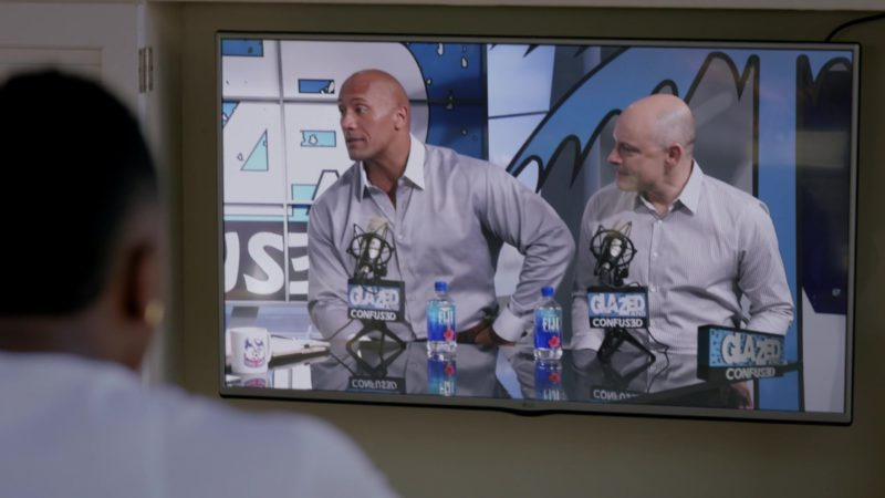 "LG Flat TV and Fiji Water in Ballers: Season 2, Episode 1, ""Face of the Franchise"" (2016) TV Show Product Placement"