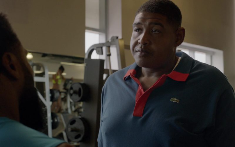 Lacoste Polo Shirt Worn by Omar Benson Miller in Ballers (4)