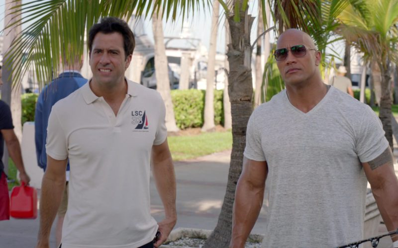 Lacoste Polo Shirt Worn by Troy Garity in Ballers (1)