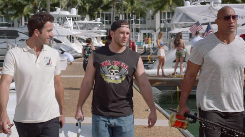 """Lacoste LSC 33 Sailing Club Polo Shirt Worn by Troy Garity in Ballers: Season 2, Episode 6, """"Saturdaze"""" (2016) - TV Show Product Placement"""