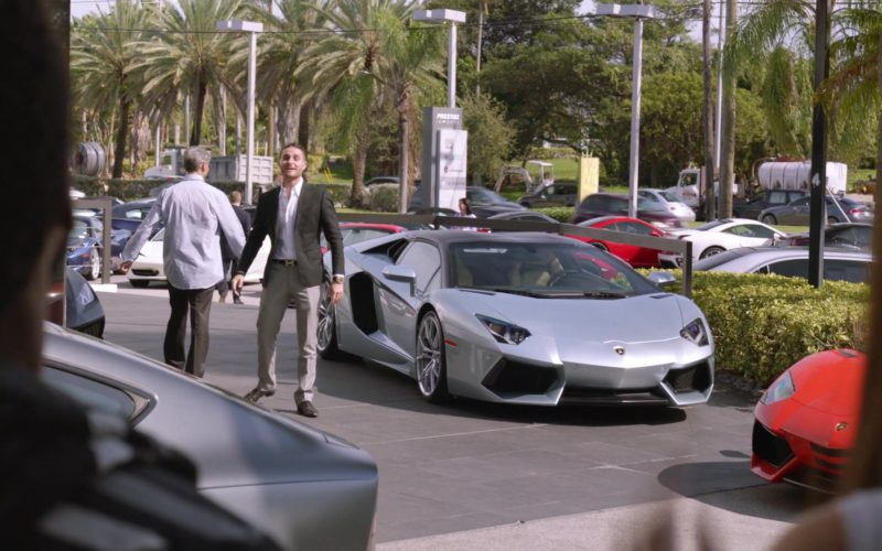 Lamborghini Aventador Sports Car in Ballers (1)