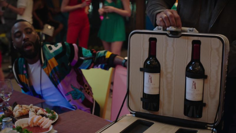 "Le Grand Vin Château Latour Wine Bottles in Ballers: Season 4, Episode 1, ""Rough Ride"" (2018) - TV Show Product Placement"