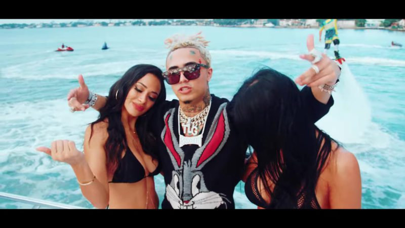 """Louis Vuitton (LV) Sunglasses Worn by Lil Pump in """"Kept ..."""