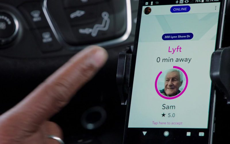 Lyft Sign in The Equalizer 2 (1)