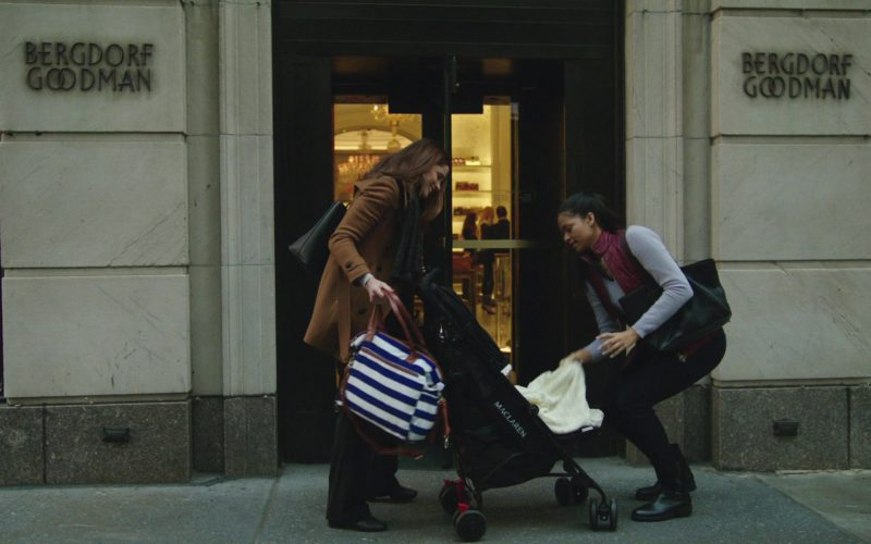 Maclaren Stroller and Bergdorf Goodman in The Romanoffs Season 1 Episode 4 (1)