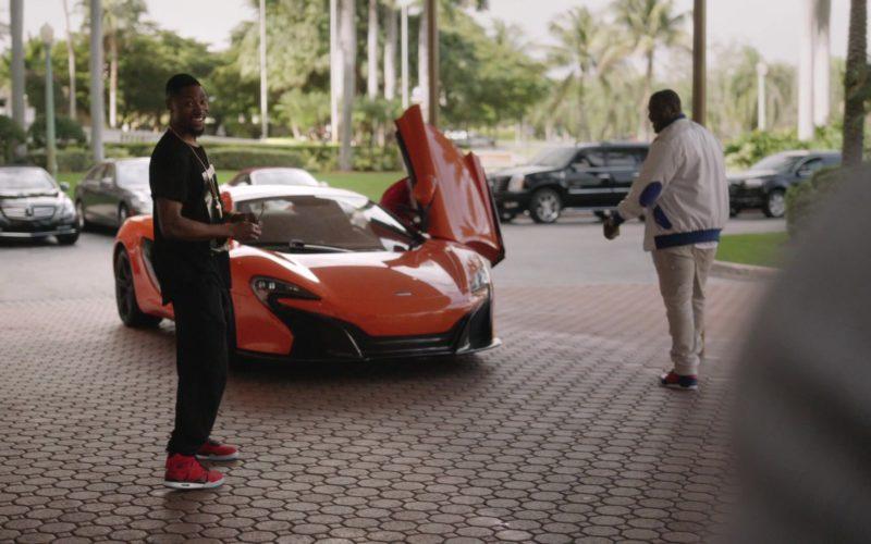 McLaren Orange Sports Car in Ballers (1)