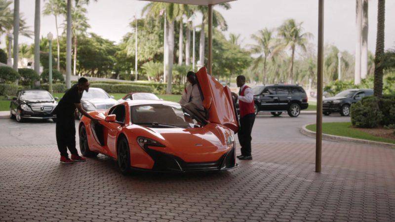 "McLaren Orange Sports Car in Ballers: Season 1, Episode 2, ""Raise Up"" (2015) - TV Show Product Placement"