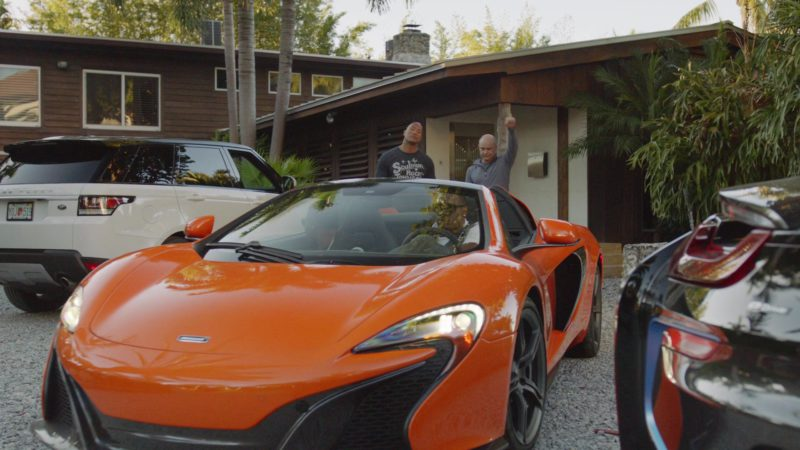 "Mclaren Sports Car in Ballers: Season 1, Episode 7, ""Ends"" (2015) TV Show Product Placement"