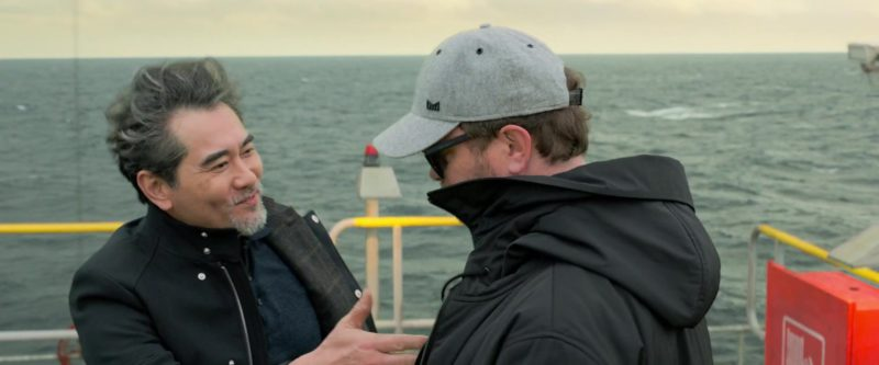 Melin Grey Cap Worn by Rainn Wilson in The Meg (2018) - Movie Product Placement