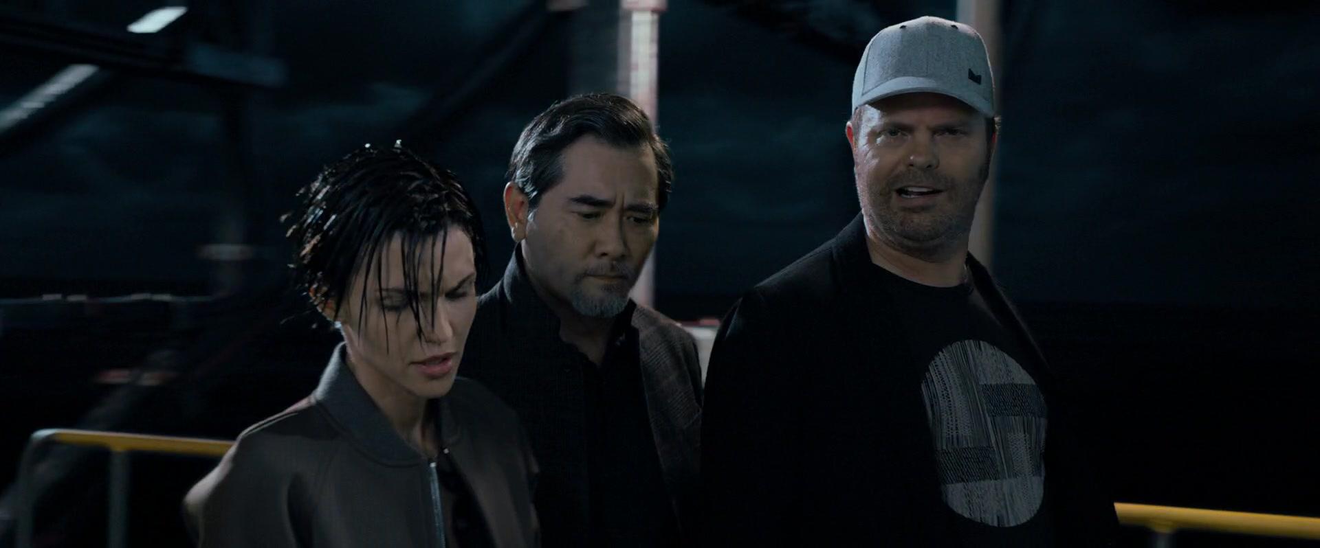 on sale 0c42f 26649 Melin Grey Cap Worn by Rainn Wilson in The Meg (2018) Movie Product  Placement