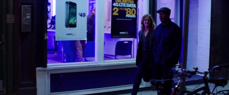 Metro PCS by T-Mobile in The Equalizer 2 (2018) - Movie Product Placement