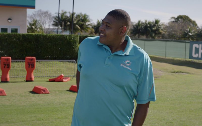 Miami Dolphins American football team polo shirt worn by Omar Benson Miller in Ballers