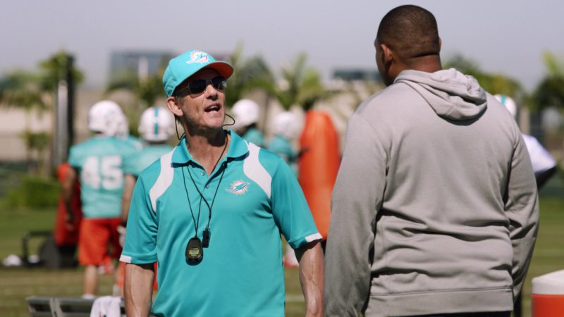 "Miami Dolphins Cap and Polo Shirt in Ballers: Season 3, Episode 6, ""I Hate New York"" (2017) - TV Show Product Placement"