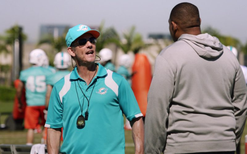 Miami Dolphins Cap and Polo Shirt in Ballers