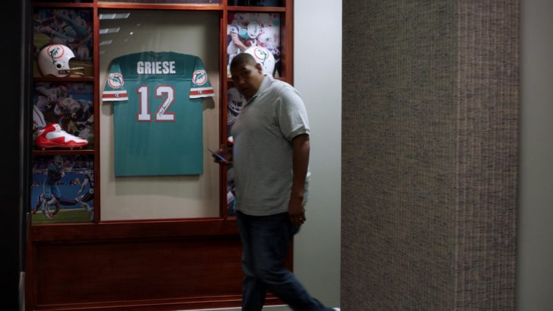 "Miami Dolphins and Nike American Football Boots in Ballers: Season 3, Episode 6, ""I Hate New York"" (2017) TV Show Product Placement"