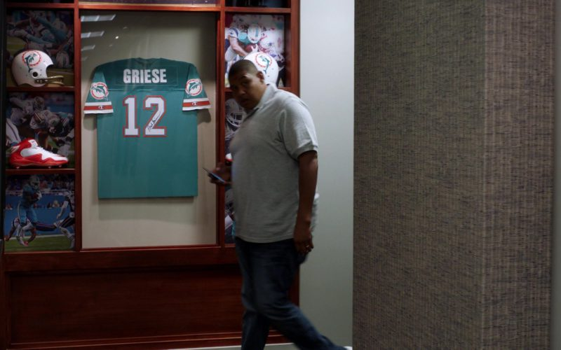 Miami Dolphins and Nike American Football Boots in Ballers