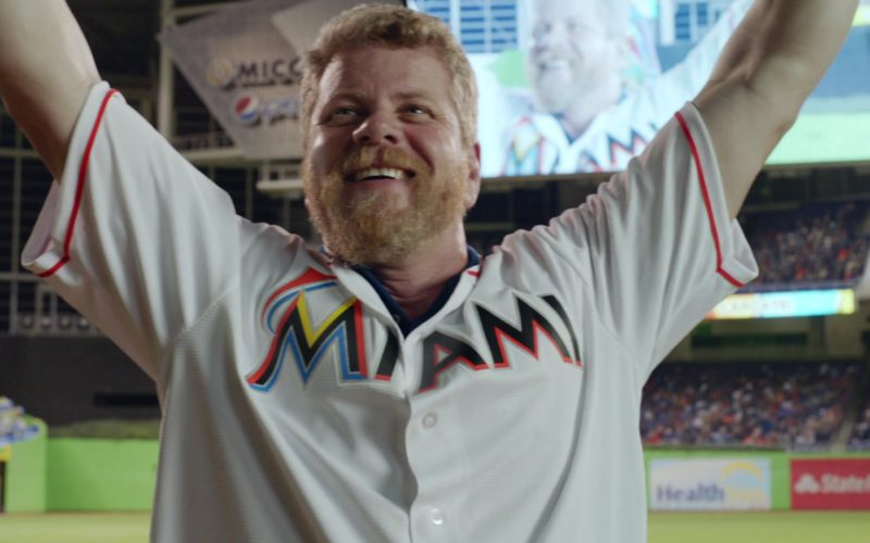 Miami Marlins Short Sleeve Shirt in Ballers (1)