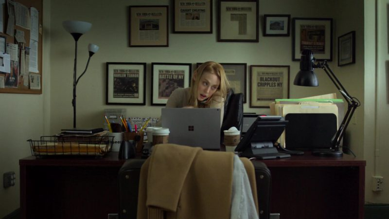 """Microsoft Surface Laptop Used by Deborah Ann Woll in Daredevil: Season 3 Episode 4 """"Blindsided"""" (2018) - TV Show Product Placement"""
