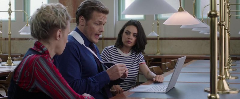 Microsoft Surface Laptop Used by Sam Heughan in The Spy Who Dumped Me (2018) Movie