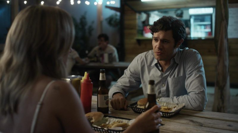 "Miller Lite Beer Drunk by Adam Brody in StartUp: Season 2, Episode 5, ""Pivot"" (2017) TV Show Product Placement"