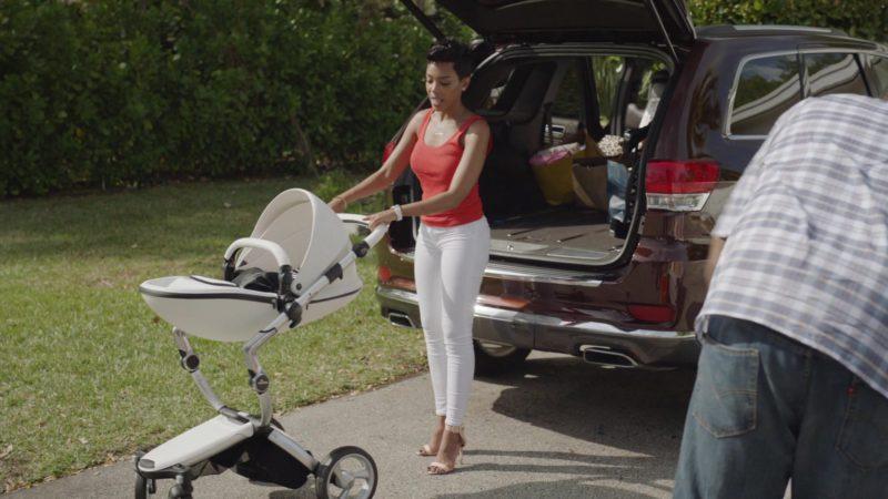 "Mima Xari Stroller in Ballers: Season 1, Episode 10, ""Flamingos"" (2015) TV Show Product Placement"
