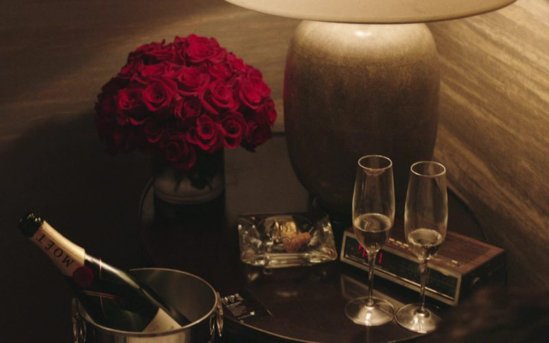 Moet Champagne in The Romanoffs