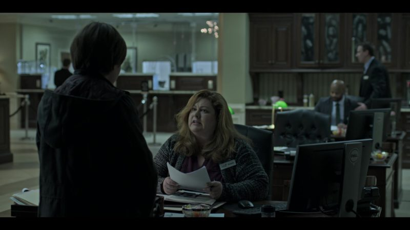 """Monitor by DELL in Ozark: Season 2, Episode 3, """"Once a Langmore ..."""" (2018) TV Show Product Placement"""
