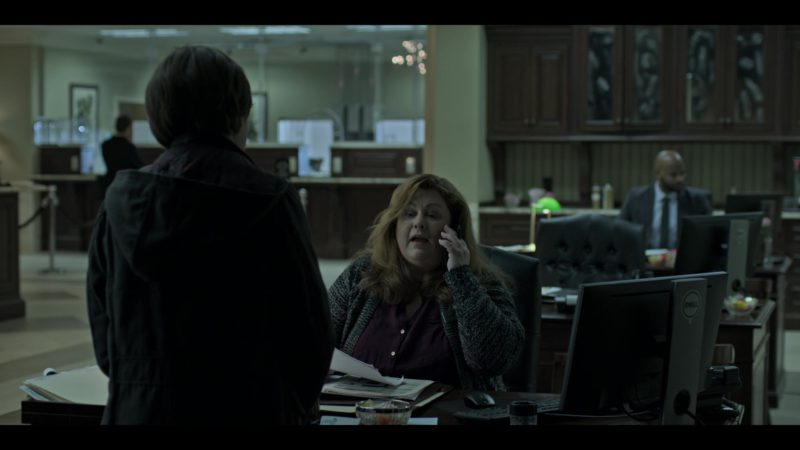 """Monitor by DELL in Ozark: Season 2, Episode 3, """"Once a Langmore ..."""" (2018) - TV Show Product Placement"""