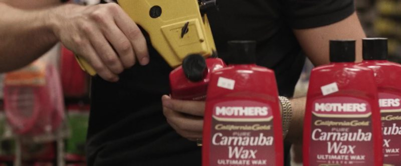 Mothers Carnauba Wax in Cruise (2018) Movie Product Placement