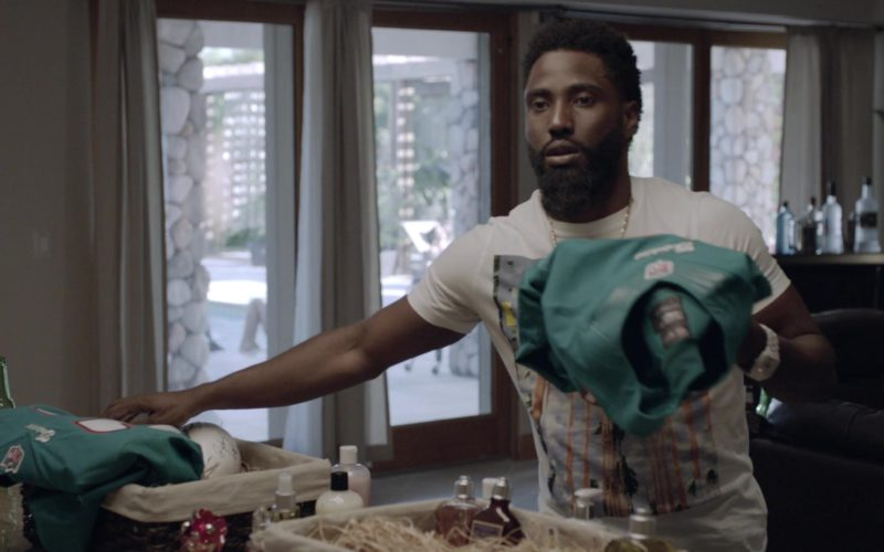 NFL Miami Dolphins Jerseys Held by John David Washington (Ricky) in Ballers (1)