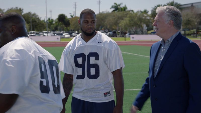 "Nike American Football Jerseys in Ballers: Season 2, Episode 10, ""Game Day"" (2016) TV Show Product Placement"