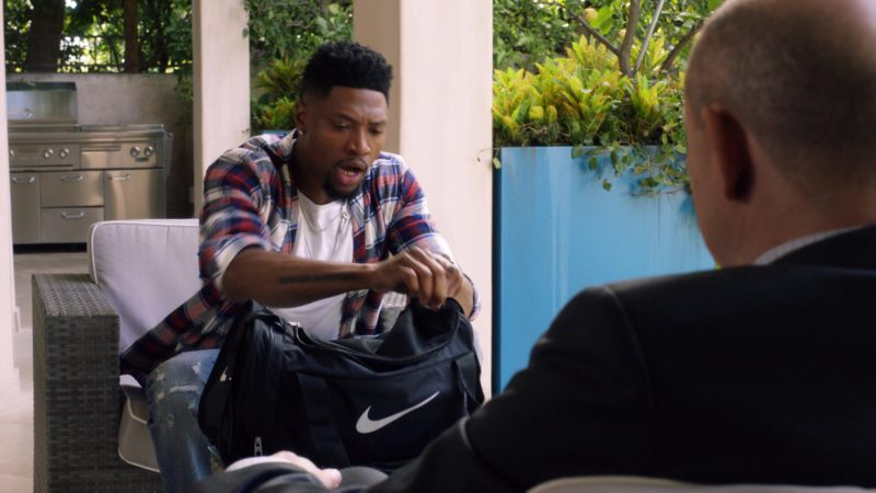 """Nike Bag in Ballers: Season 3, Episode 2, """"Bull Rush"""" (2017) - TV Show Product Placement"""