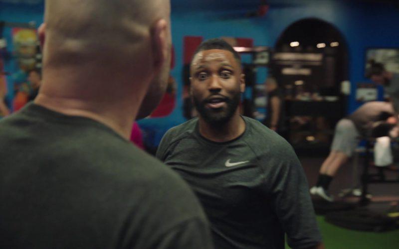 Nike Black T-Shirt Worn by John David Washington in Ballers (1)