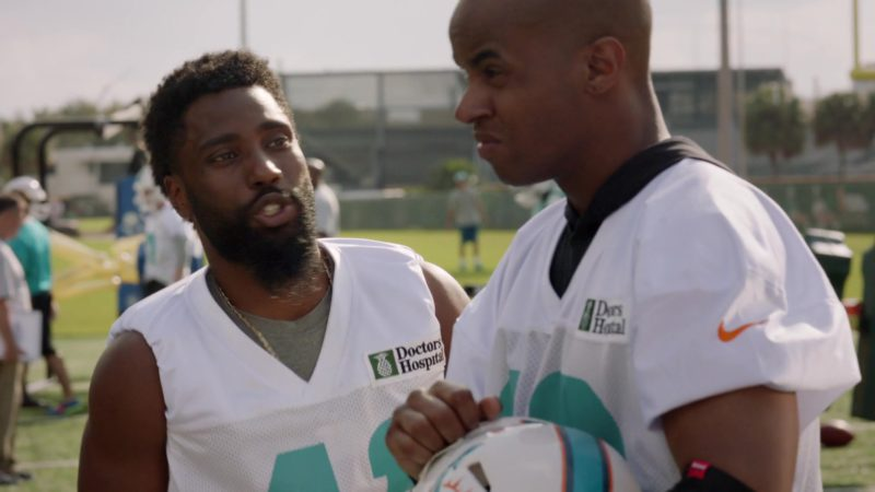 """Nike Jerseys For American Football in Ballers: Season 1, Episode 2, """"Raise Up"""" (2015) - TV Show Product Placement"""