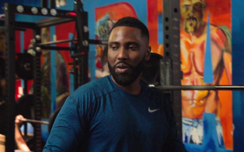 Nike Long Sleeve T-Shirt Worn by John David Washington in Ballers (1)