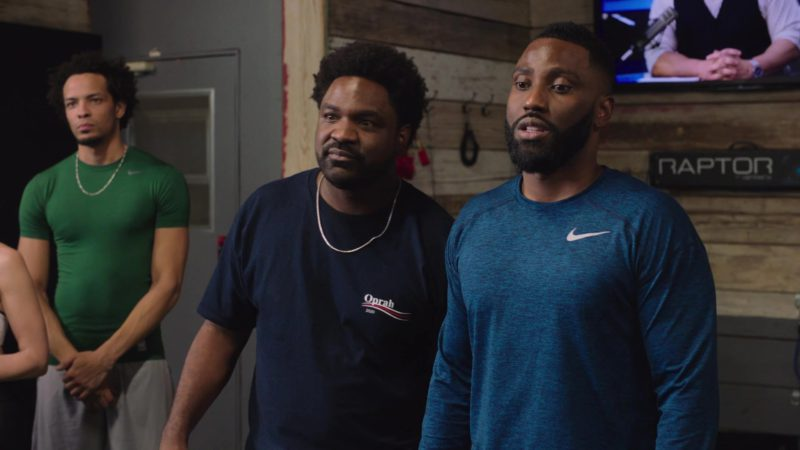 "Nike Long Sleeve Tee Worn by John David Washington in Ballers: Season 4, Episode 5, ""Doink"" (2018) TV Show Product Placement"