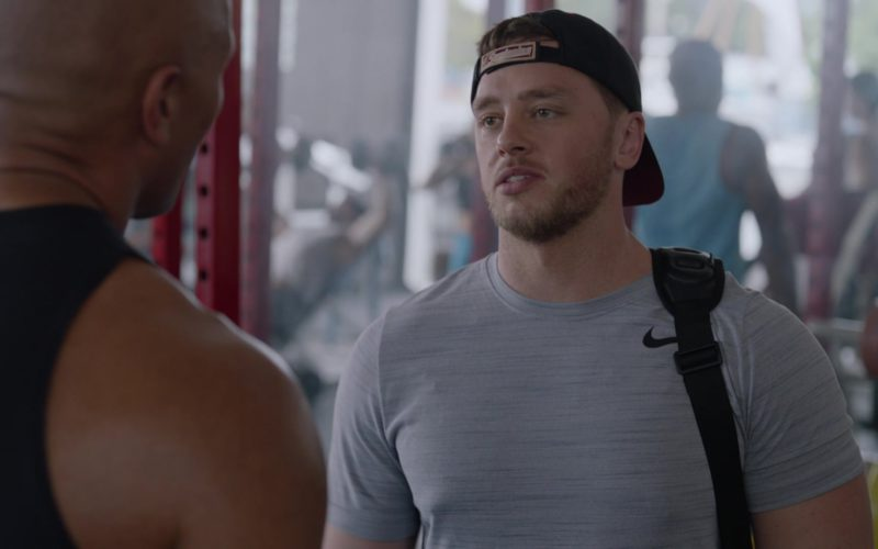 Nike Men's Grey T-Shirt in Ballers (1)