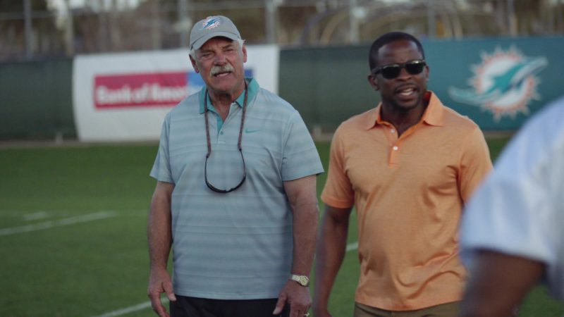 "Nike Men's Short Sleeve Shirt in Ballers: Season 1, Episode 9, ""Head-On"" (2015) TV Show Product Placement"